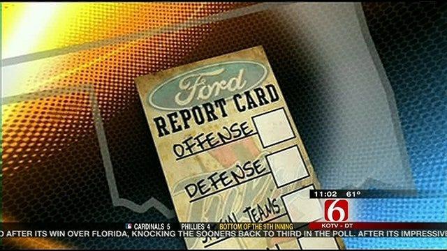 TU Report Card Against North Texas
