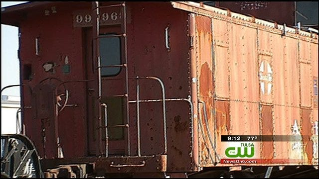 Hauling A Piece Of Railroad History To Bartlesville