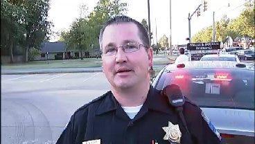 WEB EXTRA: Tulsa Police Officer Mark Sole Talks About Auto-Pedestrian Crash