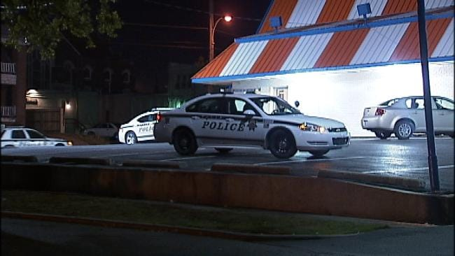 WEB EXTRA: Video From Scene Of Tulsa Whataburger Robbery