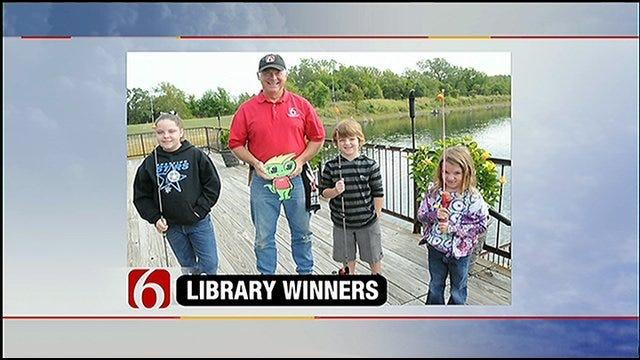 Dick Faurot Takes Reading Winners On Fishing Trip