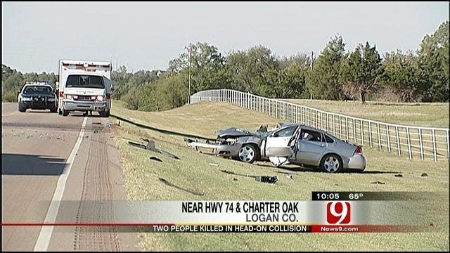 Two Oklahomans Killed In Head-On Collision, Toddler Survives