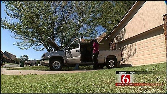 Thief Targets Tulsa Marine