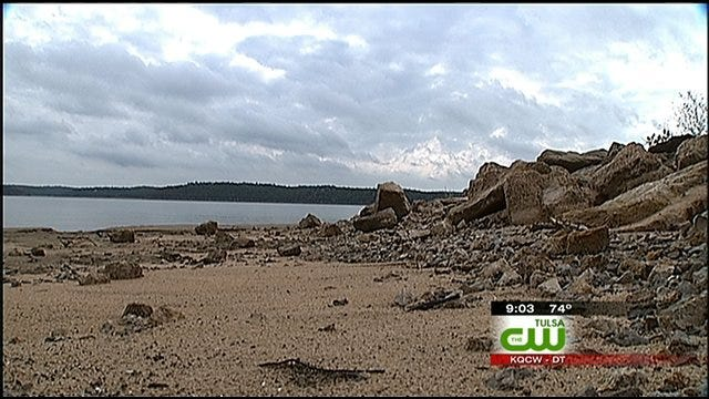 Oklahoma Lake Levels Low Due To Drought
