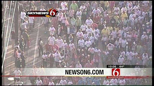 Oklahomans Race For The Cure For Breast Cancer