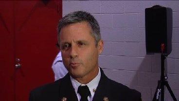 WEB EXTRA: Broken Arrow Fire Chief Jeff VanDolah Excited With Donation