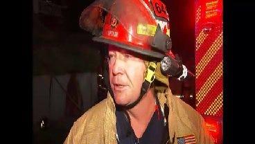 WEB EXTRA: Tulsa District Fire Chief Bob Stern Talks About Elwood Fire