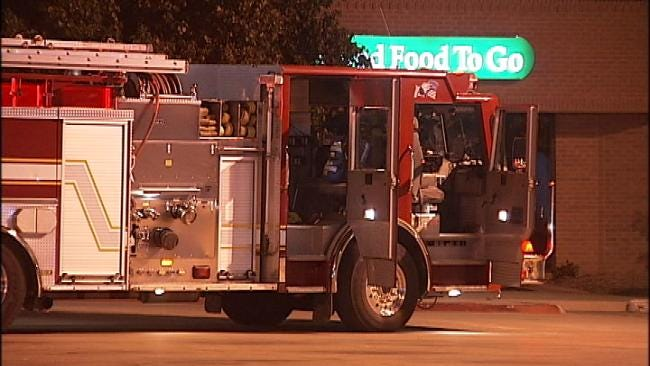 WEB EXTRA: Video Of The Scene Out Front Of Luby's At 71st And Riverside