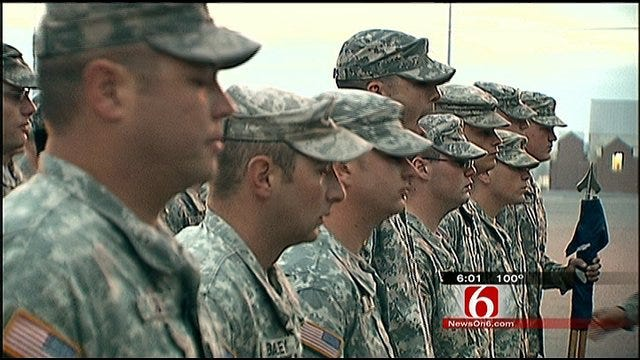 Oklahoma's 45th Infantry Chaplains Counsel Families Of Fallen