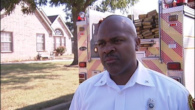 WEB EXTRA: Tulsa Fire's Tim Smallwood On Structure Fire