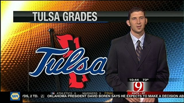 Tulsa Grades For Season Opener