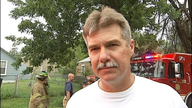 WEB EXTRA: Tulsa Fire Chief On House Fire, Smoke Detectors