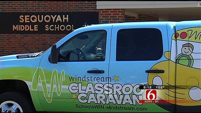 Broken Arrow School Surprised With A $1,000 Check
