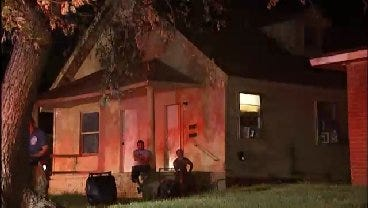 WEB EXTRA: Video From Scene Of Tulsa Garage Apartment Fire