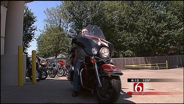 Tulsa Woman Uses 'Hog Therapy' To Deal With MS
