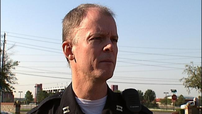 WEB EXTRA: Tulsa Police On Homicide Arrest