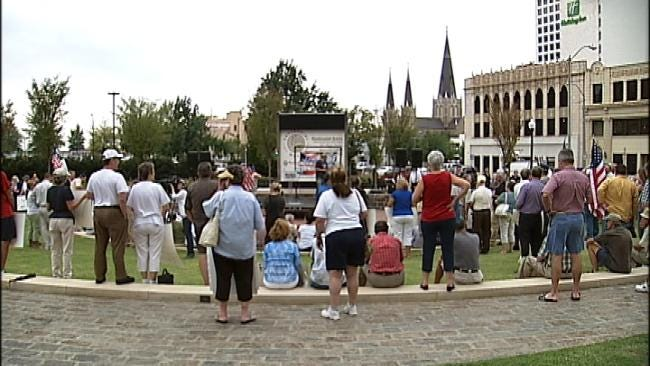 Tulsa Police Captain At The Center Of Two Downtown Demonstrations