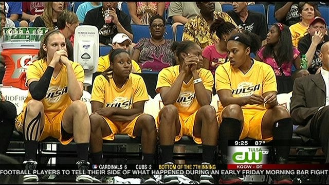 Shock Falls To Sparks
