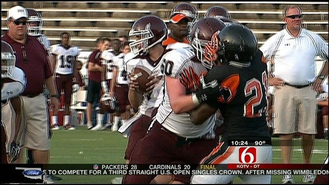 Highlights From Tulsa-area Scrimmages