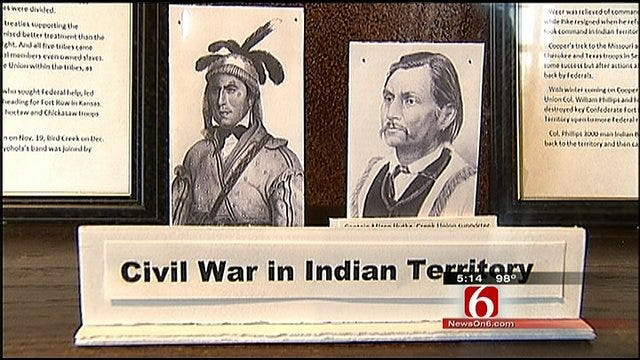 Sand Springs Exhibit Paints Picture Of Indian Territory During The Civil