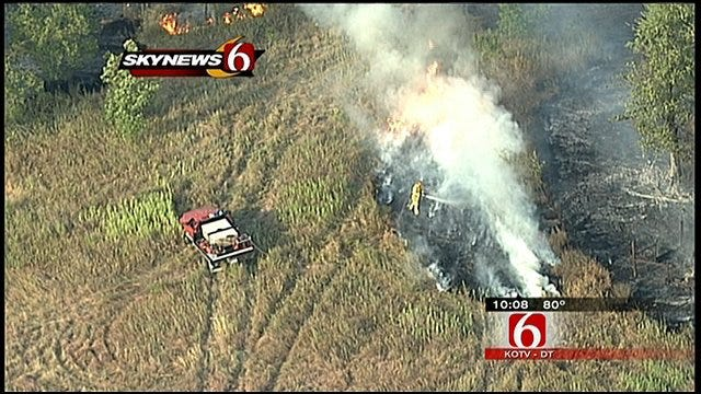 Fire Crews Resources Drained After Pawnee County Fires