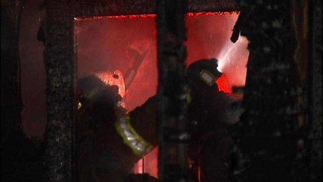 WEB EXTRA: Scene Of Latest North Tulsa Arson
