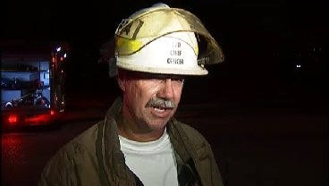 WEB EXTRA: Tulsa Fire District Fire Chief Bennie Herring Talks About Fire
