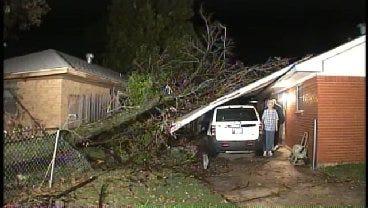 WEB EXTRA: Video Of East Tulsa Storm Damage