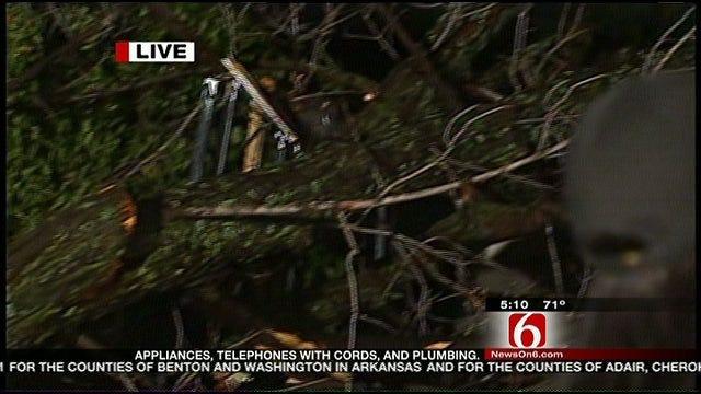 Severe Weather Strikes Tulsa Early Wednesday