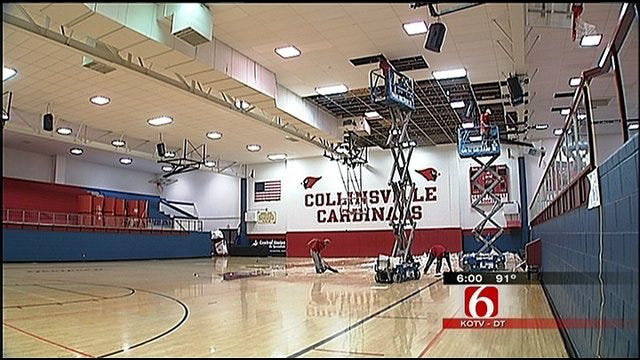 Thunderstorm Damages Collinsville School Buildings