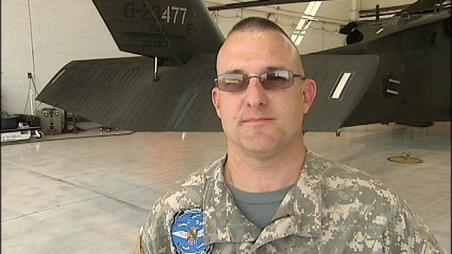 WEB EXTRA: National Guard Pilot On Blackhawk Rescue Services