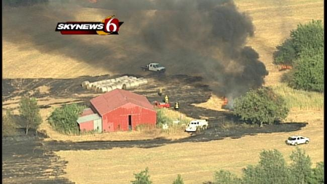 SkyNews6 Views Of Green Country Wildfires