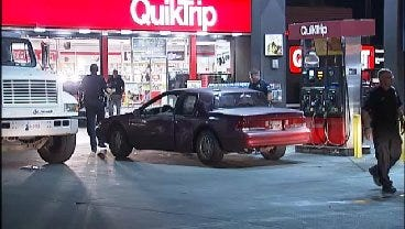 WEB EXTRA: Video From Robbery At Tulsa QuikTrip Early Friday