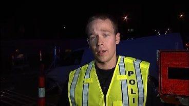 WEB EXTRA: Tulsa Police Officer Todd Hanson Talks About Van Crash