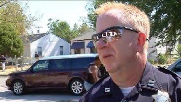 WEB EXTRA: Tulsa Police Captain Steve Odom Talks About Shooting