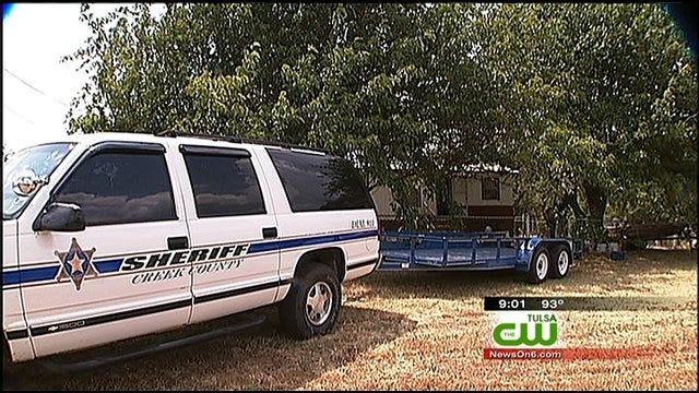 Creek County Deputies Uncover Large Marijuana-Growing Enterprise