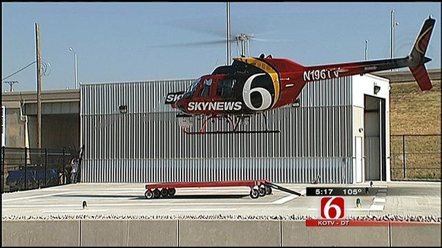 SkyNews6 Lands In New Downtown Hanger