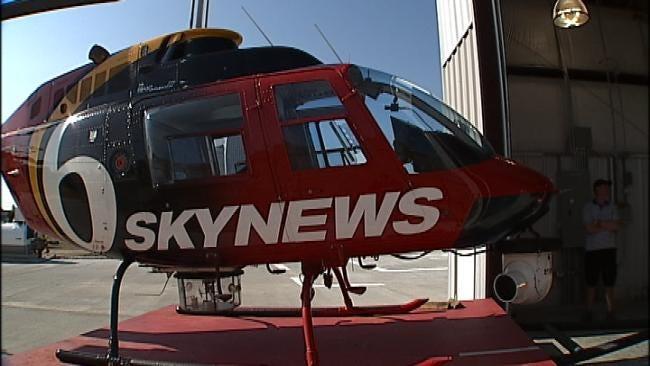WEB EXTRA: SkyNews6 Lands At New Downtown Tulsa Hangar