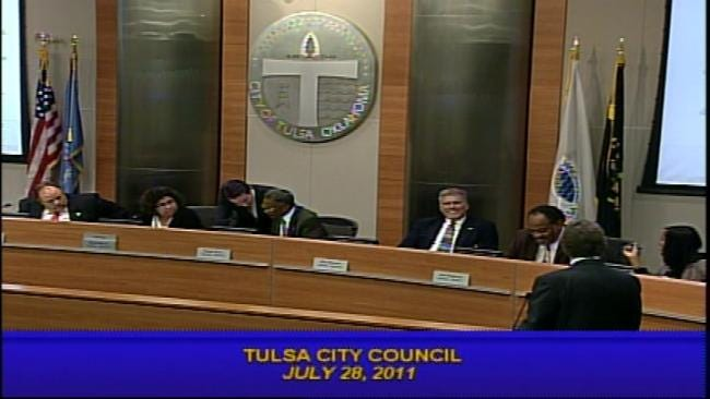 Fireworks Fly At Tulsa City Council Meeting July 28, 2011