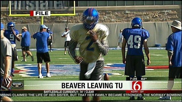 Shavodrick Beaver Leaving TU