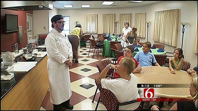 Tulsa's Westside YMCA Gives Kids Taste Of 'Iron Chef'