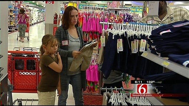 Tulsa School Kids Go On Target Shopping Spree