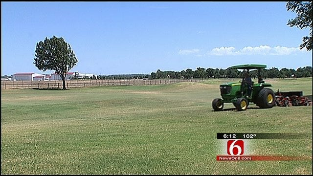 Jenks Golf Course Battles To Keep The Greens… Green