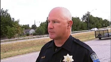 WEB EXTRA: Tulsa Police Officer Cpl. Brian Collum Talks About Fatal Crash