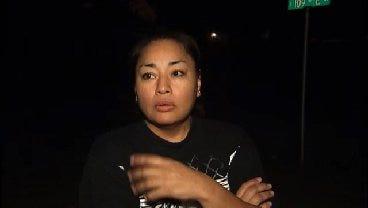 WEB EXTRA: East Tulsa Resident Tonya Wise Talks About Vandalism