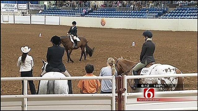 Tulsa Horse Show For Special Need Riders