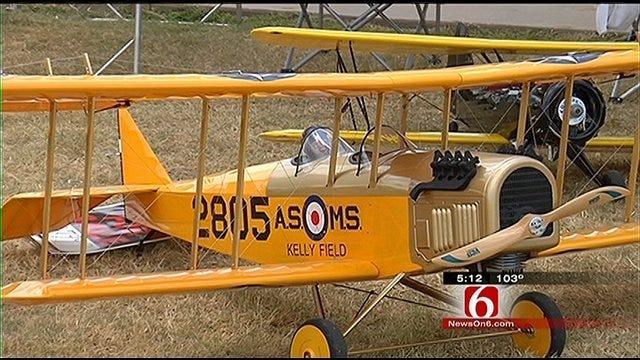 Tulsa Glue Dobbers Hold Radio-Controlled Airplane Show