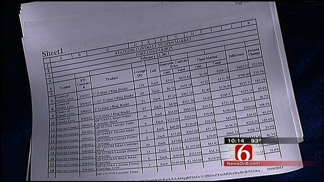 New Complaints Made About Oklahoma Purchasing Department