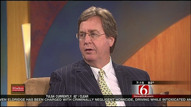 Tulsa Mayor Dewey Bartlett Talks About Extreme Heat And City Water Supply