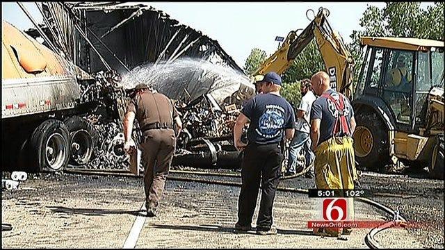 Trucker Killed In Nowata County Highway Crash